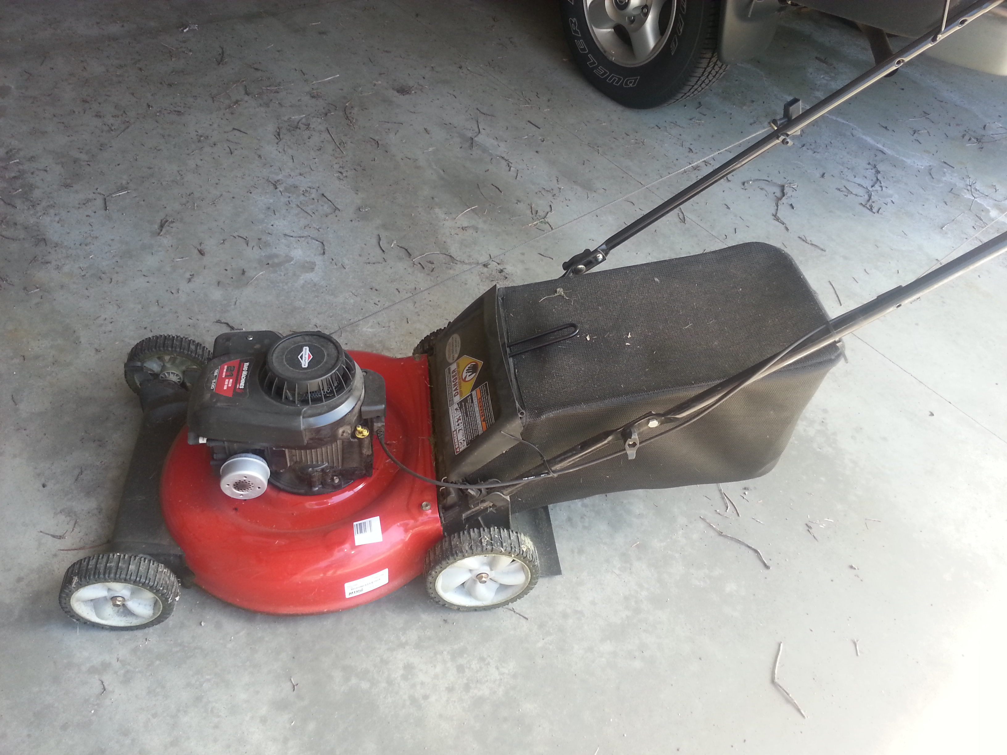 Lawn Mower – First Season Use